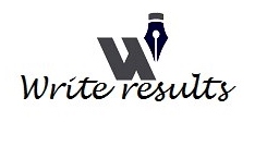 Write Results Blog